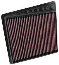 K&N 33-5058 Hi-Flow Air Intake Drop in Filter for 2016-2018 Nissan Titan XD 5.6L