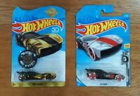 HOT WHEELS SKY DOME (2pcs) CHROMES & GOLD Special 50th Anniversary 2018