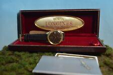 Longines Ultra-Chron 18kt Gold Vintage Herrenuhr von 1974, B&P, Service Ref 7950