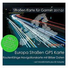 CARMIX-GPS | Europa Straßen Karte alle Länder für Garmin | microSD-SD MC2017Q1EU