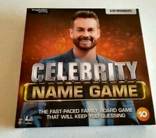 Celebrity Name Game Family Party Card Board Ages 8 Players 4