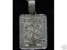 LOOK JACK OF DIAMONDS Pendant Silver Charm Cards