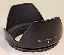 DC-S Plastic Lens Hood 72mm Screw On In Type for zoom 18-200mm S3109018