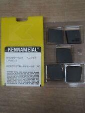 KENNAMETAL INDEXABLE INSERTS KC910 10 PCS BN300469 (IK0503)