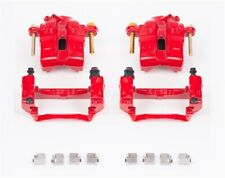Power Stop S1704 Performance Front Brake Calipers Powder Coated Red Pair