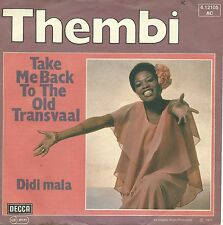"""Thembi - Take Me Back To The Old Transvaal (7"""" Decca Vinyl-Single Germany 1977)"""