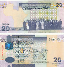 Libyen / LIBYA - 20 Dinars 2009 UNC - Pick 74, Serie 2