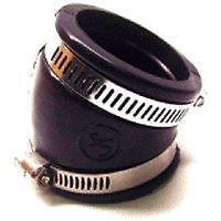 Rotax 277 or 503 Carburetor Socket angled for Hovercraft or Ultralight (pn 8501)