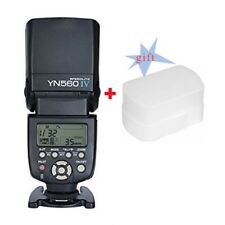 YN-560 IV Flash Speedlight for Canon Nikon Pentax Olympus/560III +Free Diffuser