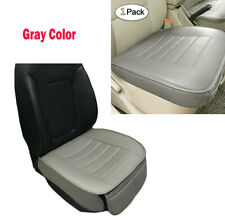 Auto Supplies Office Chair PU Surrounded Front Seat Cushion Cover Pad Grey