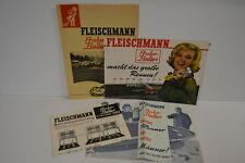 2 ) Fleischmann  - Autorally - Ältere Prospekte / Beschreibungen 3182