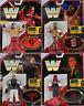 Wwe Retro Aplicación Acción Mattel los 4 Completo Serie 6 Figura de Lucha
