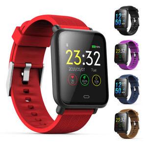 Smart Watch Band Q9 3D Dynamic UI Fitness Tracker Bracelet Heart rate Monitor UK