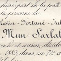 Célestin Fortuné Jules De Mun-Sarlabous Château de Gensac-sur-Garonne 1882