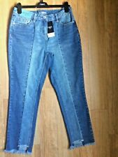 WOMEN'S NEXT JEANS SIZE 8 BOYFIT MID RISE RIGID New With Tags BNWT RRP £32