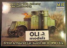 1/72 WWI British Armoured Car Austin Mk.III - Master Box 72007