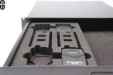2he Pro Sennheiser EW iem g2/g3/2000s 4er Kit mousse dépôt; Foam Inlay
