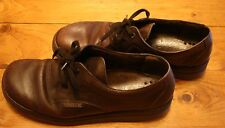 STUNNING MEPHISTO MEN'S BROWN  LEATHER SHOES GOOD CONDITION EUR SIZE 9.5 US 10