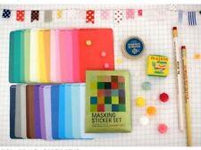 27 sheets Masking Sticker set Solid Color ST041
