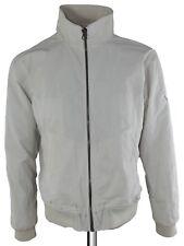 bomb boogie giubbino giacca uomo bianco p/e zip  taglia xl extra large