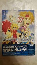 * Tales of the World RADIANS mythologie 2 manga volume 1 jap. TOP * Japon RAR
