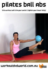 Pilates EXERCISE DVD - Barlates Body Blitz PILATES BALL ABS!