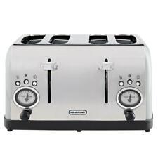 Blaupunkt Retro 4 Slice Toaster - Grey Kitchen Essential Stylish Toasters