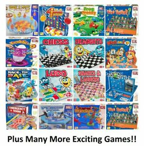 TRADITIONAL CLASSIC MODERN BOARD GAMES FULL SIZE Family Christmas Kids Fun
