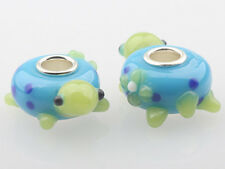 1pcs MURANO GLASS BEAD LAMPWORK Fit European Charm Bracelet DW-026 lovely Animal