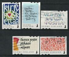 2019 Finland, Touching letter, complete set postally used.