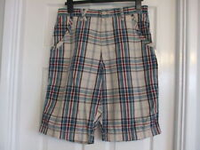 w Mens Size 32 Inch Waist Summer Checked Shorts From Next Medium Knee Length