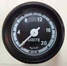 PRESSURE GAUGE RELOJ DE PRESIÓN DE ACEITE VDO MADE IN SPAIN ORIGINAL