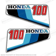 Honda 1983 10hp Outboard Decal Kit Discontinued Decal Reproductions in Stock