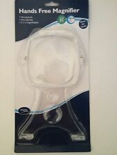 Hands Free Magnifier / Magnifying glass -Aid for craft, needlework, reading