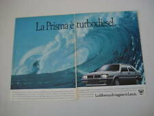 advertising Pubblicità 1985 LANCIA PRISMA TURBODIESEL