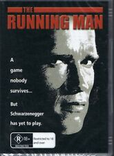 THE RUNNING MAN DVD Starring Arnold Schwarzenegger NEW & SEALED Free Post