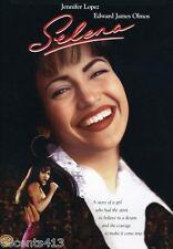 Selena (Wide & Fullscreen DVD) Lupe Ontiveros, Edward James Olmos **NEW**
