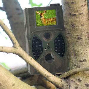 Wildkamera GPRS/MMS/SMS 12MP 940NM HC300M JagdKamera IR LED Wildtier Kamera DE