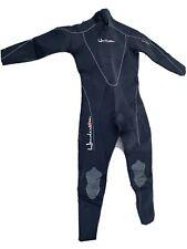 Men's XL Henderson Dive Wear Full Wetsuit Scuba Surfing Swim BLK (M)