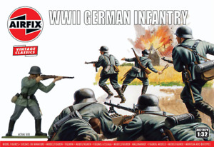 Airfix Vintage Classic 1/32 WWII German Infantry # A02702V