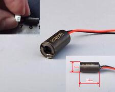 2PCS 650nm 7mm 5mW Red Laser Dot Diode Sensor Module Infrared Positioning 3V 5V