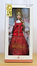 2004 DOLLS OF THE WORLD, PRINCESS OF IMPERIAL RUSSIA BARBIE DOLL - NIB