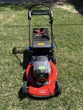 Toro Recycler Cordless Lawn Mower Behind Push 21 Inch 60V Lithium Ion Open Box