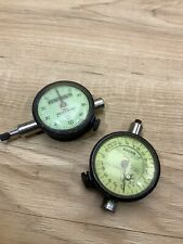 Federal Dial Indicators Gage Set Of Two Machinist