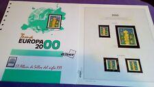 hojas sellos europa cept, Efilcar especial 2000.