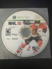 NHL 10 (Microsoft Xbox 360, 2009) DISC ONLY