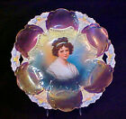 RS Prussia Lily Mold 29 Tiffany Finish Madame Le Brun Portrait Cake Plate