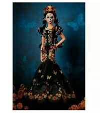 Barbie Dia De Los Muertos (Day of The Dead) Doll NEW IN BOX Collector Signature