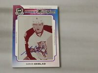 2014-15 The Cup - Rookie Masterpieces Autograph - Aaron Ekblad  1/1