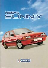 Nissan Sunny 1987 Sales Brochure